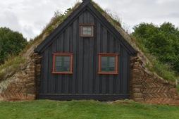 vanha kirkko Víðimýrarkirkja